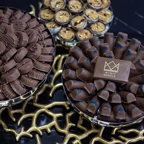 مونور شوكولا محل شوكولاتة و توزيعات مواليد